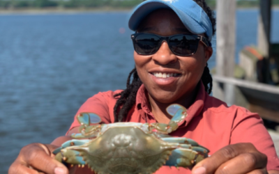 TIA CLARK: Catching Blue Crabs, Letting the Salt Water Heal Your Soul, And Sharing Your Joy With Others