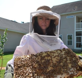 APRIL ALDRICH: Learning All About The Magic Of Bees, Discovering Beer As A Healer, And Making Your Passion Your Life's Work