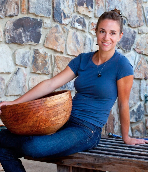 ASHLEY HARWOOD: Turning Wood Into Art, Proving People Wrong, And Teaching Others Your Craft